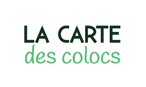 la carte des colocs